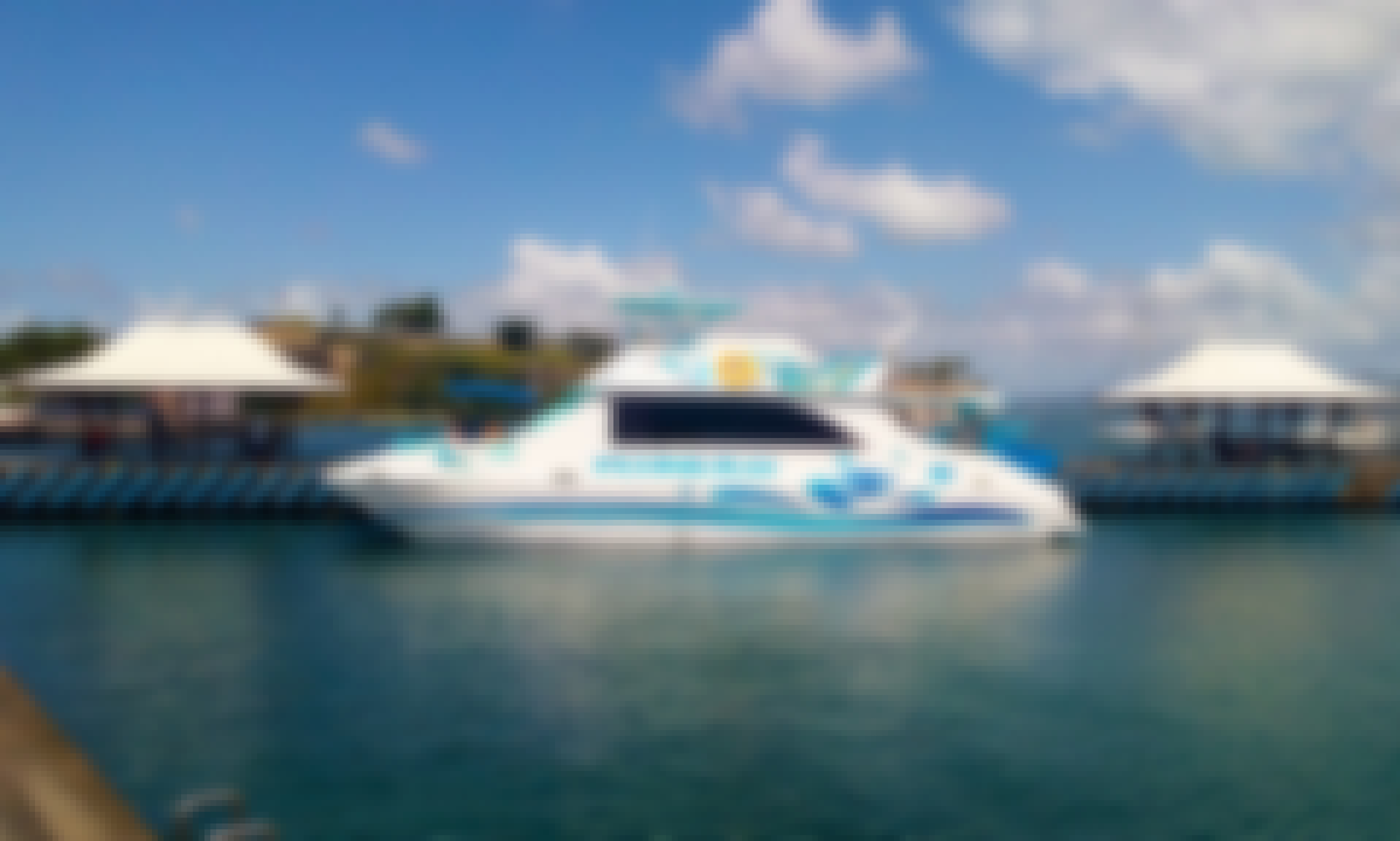 Martinique Day Cruise and Power Catamaran charters In St. Lucia