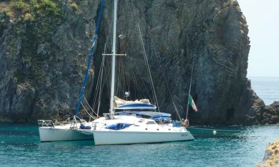 Sailing Charter On 47ft Privilege Cruising Catamaran In Napoli, Italy