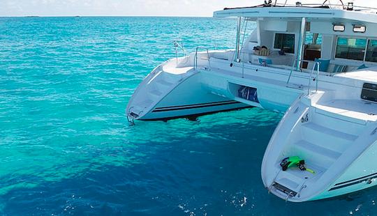 Sailing Charter On 50ft Lagoon Cruising Catamaran In La Maddalena, Italy