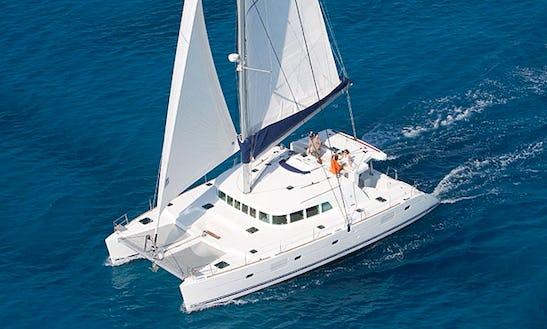 Sailing Charter On 58' Privilege Cruising Catamaran In Fiumicino, Italy