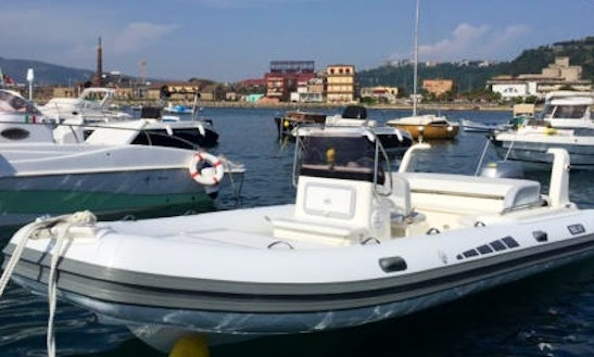 Rent Bsc 8mt Inflatable Boat In Naples, Italy