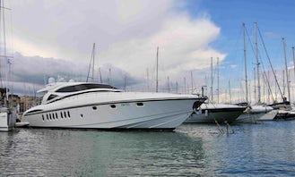 Captained Charter on Alalunga 85 Sport Power Mega Yacht in Sardegna, Italy
