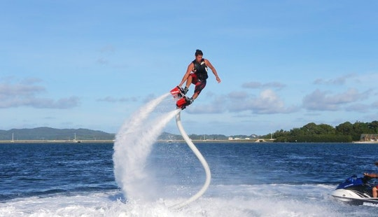 Try Flyboarding In Miami, Florida