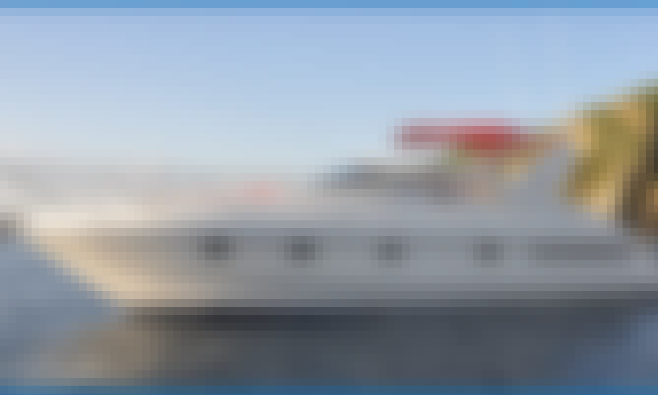 Crewed Motor Yacht Fairline Targa 43' for charter in Mallorca