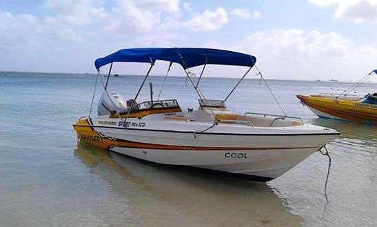 Charter 6 People Bowrider In Trou-aux-biches, Mauritius