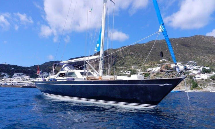 Exclusive Sail Yacht Charter On Franchini 45 Sailboat in Procida, Italy