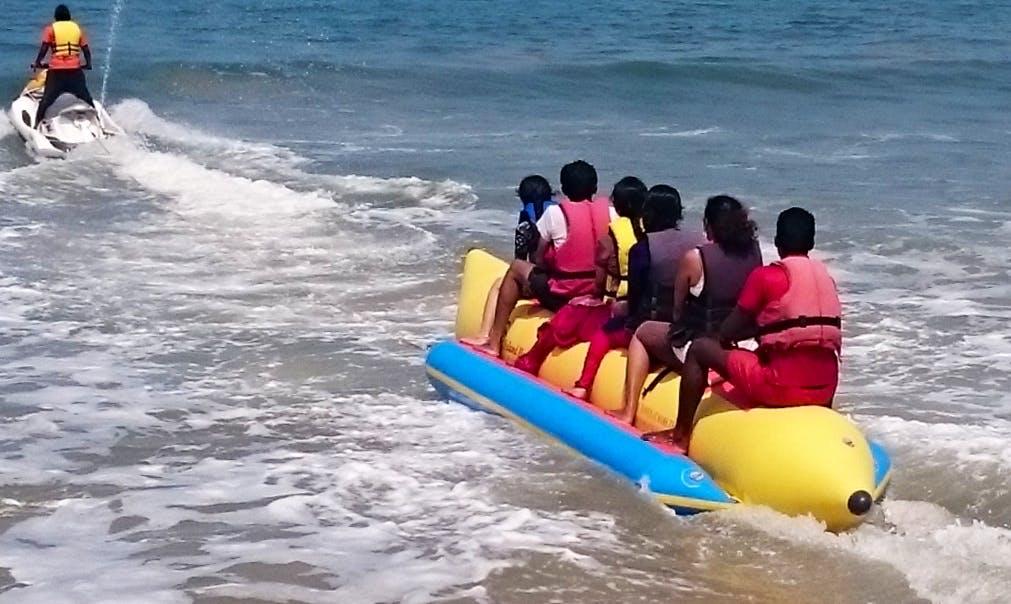 Enjoy Banana Boat Rides in Malpe, Karnataka!