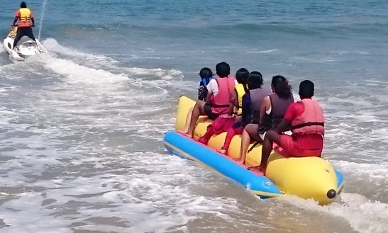 Enjoy Banana Boat Rides In Malpe, Karnataka!