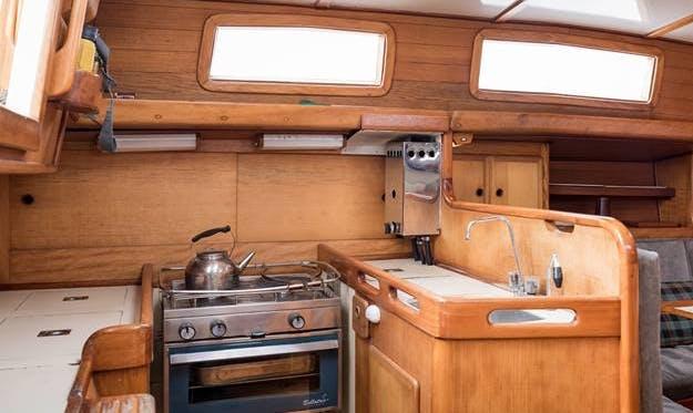 Charter a Cruising Monohull in Algarrobo or Viña del Mar, Chile