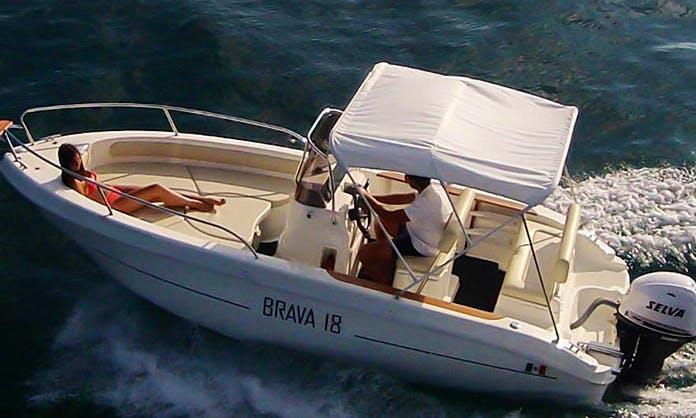 Enjoy Capri Island on 5 People Boat Tour