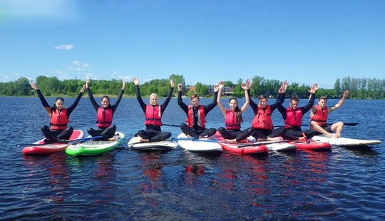 Paddleboard Hire & Lessons In Riga