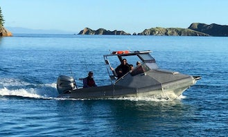 """19ft """"Silver One"""" Cuddy Cabin Boat Rental In Havelock, New Zealand"""