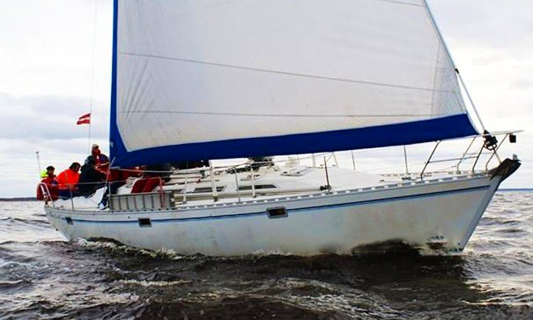 Charter 44' Sailing Cruises for parties in Riga, Latvia