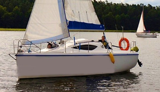 Antila 22 Cruising Monohull Charter In Gizycko