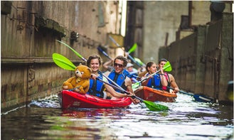 Enjoy Kayaking in Rīga, Latvia woith your family and friends!