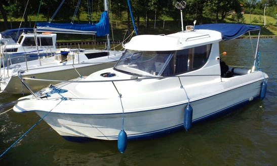 Rent 22' Quicksilver Motor Yacht In Kolonia Rybacka, Poland