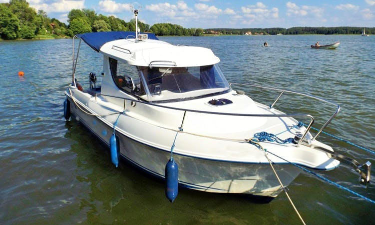 Rent 22' Quicksilver Motor Yacht in Kolonia Rybacka, Poland