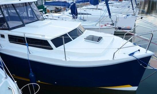 Charter Matala Motor Yacht In Warmińsko-mazurskie, Poland