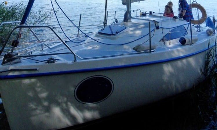"Sasanka 660 ""Oyster"" Cruising Monohull Charter in Poland"