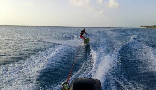 Wakeboarding In Fitts Village, Barbados