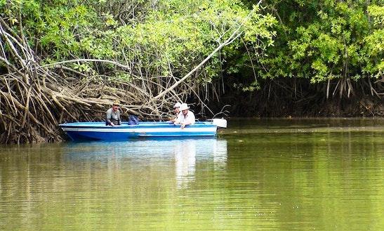 Enjoy Fishing In Quepos, Costa Rica On Jon Boat