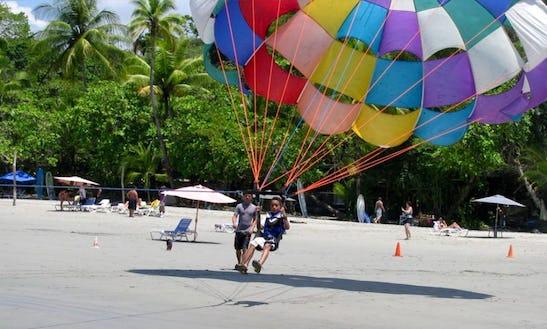 Enjoy Parasailing In Quepos, Costa Rica