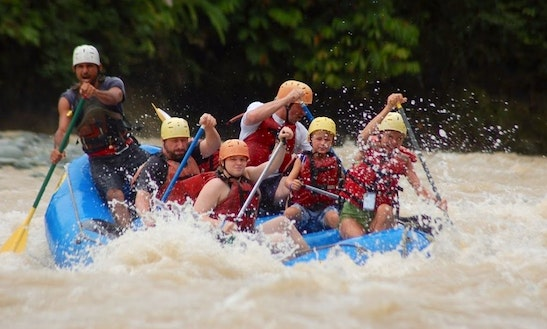 Enjoy Rafting In Quepos, Costa Rica