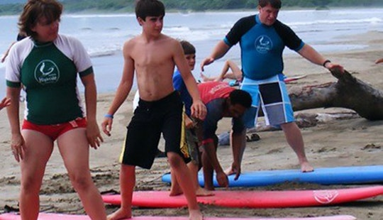 Surfing Lessons For All Ages In Quepos, Costa Rica