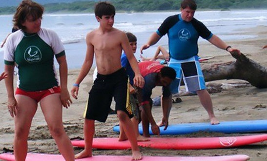 Enjoy Surfing Lessons In Quepos, Costa Rica