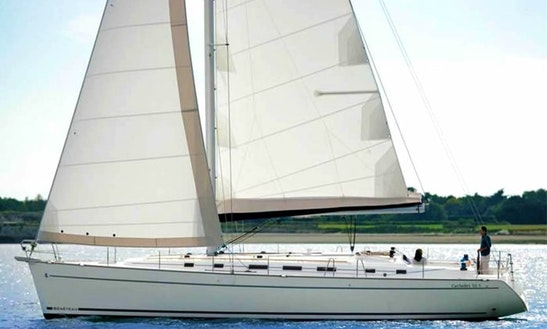 Charter This 50ft Beneteau Cyclades Sailing Yacht In Perigiali, Greece