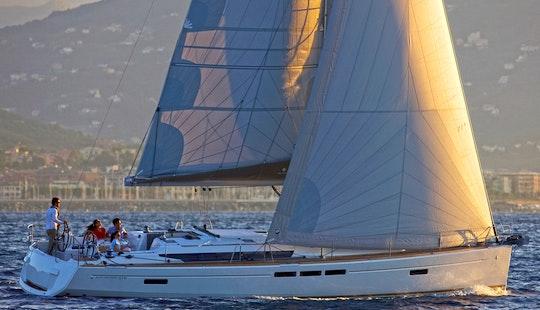 Charter The Jeanneau Sun Odyssey 519 Sailing Yacht In Lefkas Perigiali, Greece