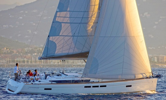 Charter The Jeanneau Sun Odyssey 519 Sailing Yacht In Perigiali, Greece