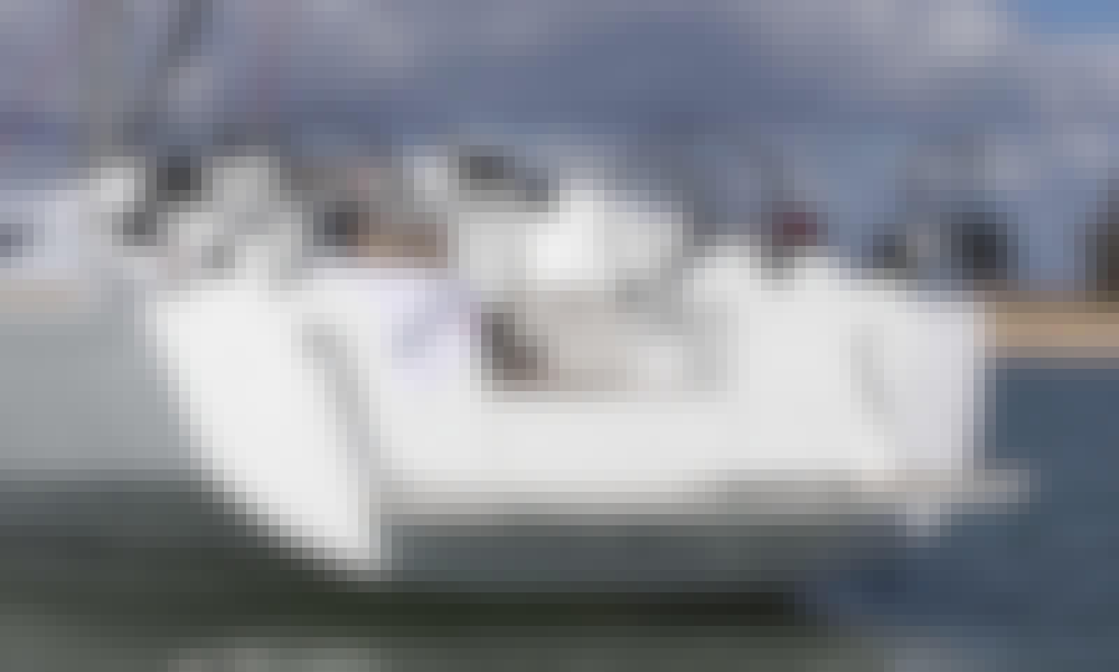 Charter Sun Odyssey 419 Sailing Yacht in Lefkas Perigiali, Greece