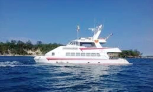 Power Catamaran Rental in Malay, Philippines for up to 200 people