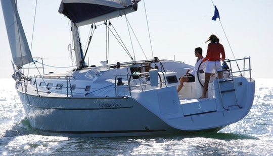 Charter The Beneteau Cyclades 43.4 Sailing Yacht In Lefkas Perigiali, Greece