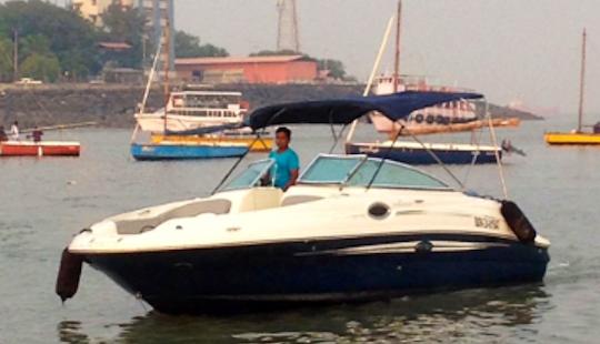 Enjoy Cruising In Mumbai Harbour Aboard A Bowrider!