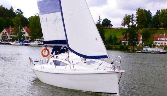 Sail Away On This Antila 24 Cruising Monohull Charter In Gmina Mikołajki, Poland
