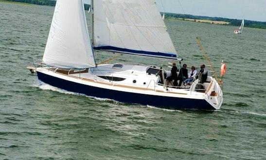 Maxus 33 Blue Sailing Monohull Charter In Węgorzewo