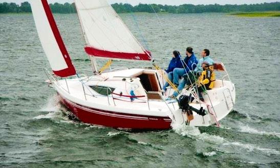 Maxus 28 Red Sailing Monohull Charter In Węgorzewo
