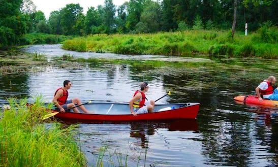 Enjoy Double Canoe Rentals In Gaujas Iela, Latvia