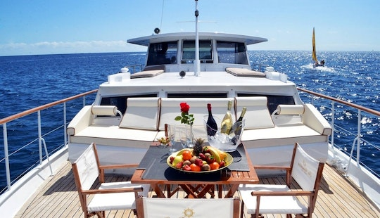 Charter A Motor Yacht In Costa Adeje, Spain
