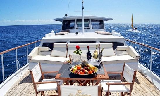 Charter A Motor Yacht In Costa Adeje, Spain