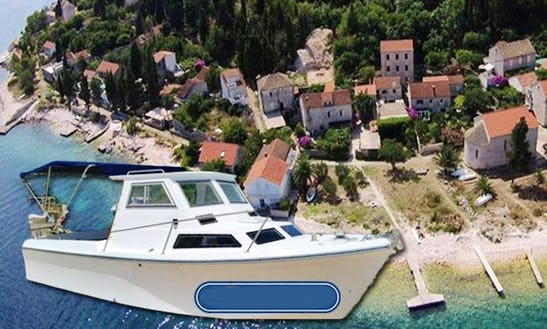 Water Taxi Service From Korčula To Vrnik In Croatia