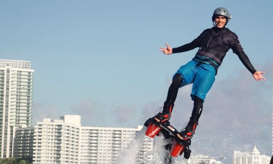 Discover The Unique Experience Of Flyboarding In Miami Beach