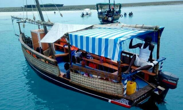 Cruise in Style on a Traditional Boat in Wasini, Kenya