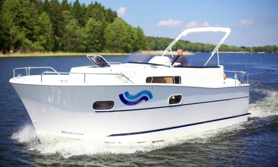 Rent Nautica Mc Motor Yacht In Mrągowo, Poland