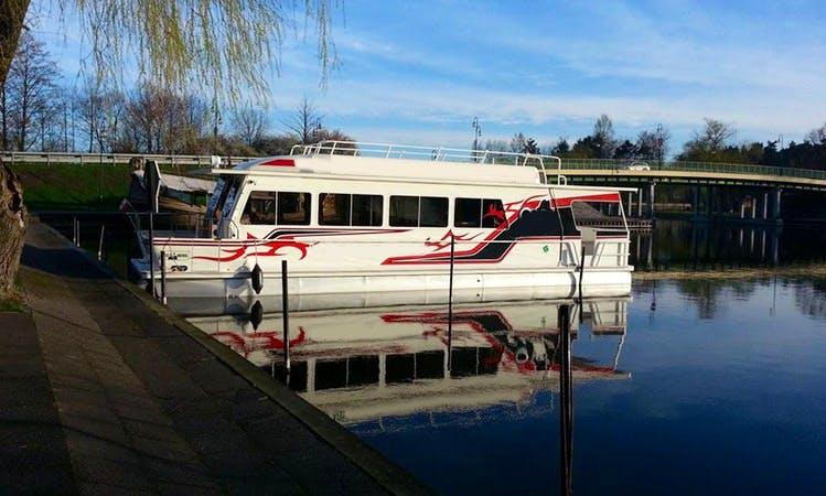 'Rejtsy' Power Catamaran Trips in Augustów