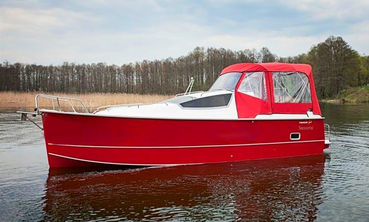 Nexus 850 Vmax Motorboat Charter in Wilkasy, Poland