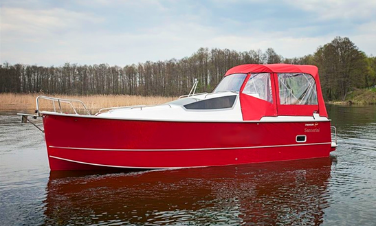 Nexus 850 Vmax Motorboat Charter In Wilkasy, Poland