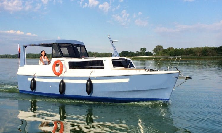 Charter a Motor Yacht in Iława, Poland